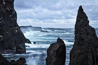 Photograph - Reykjanes Peninsula Coast - Iceland by Stuart Litoff