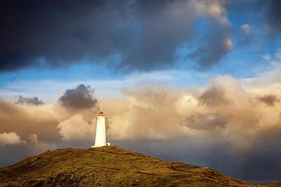 Photograph - Reykjanesviti Lighthouse by Alexey Stiop