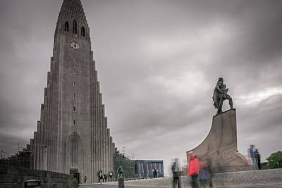 Photograph - Reykjavik by Andrew Matwijec