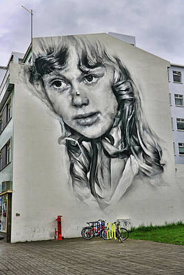 Photograph - Reykjavik Mural # 1 by Allen Beatty