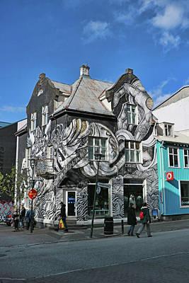 Photograph - Reykjavik Mural # 2 by Allen Beatty
