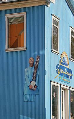 Photograph - Reykjavik Mural # 3 by Allen Beatty