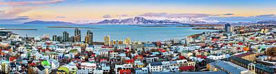 Photograph - Reykjavik Panorama by Mihai Andritoiu