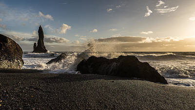 Photograph - Reynisdrangar by James Billings
