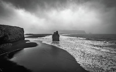 Photograph - Reynisfjara Beach by Bill Martin