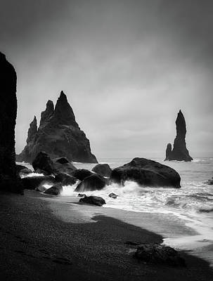 Photograph - Reynisfjara by Bill Martin