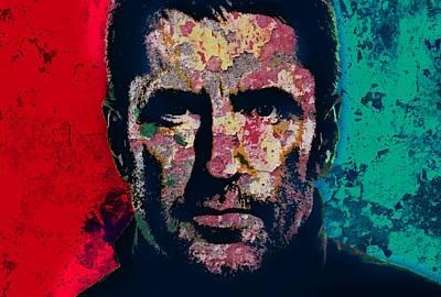 Trent Reznor Mixed Media - Reznor by Otis Porritt