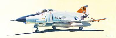 Painting - Rf-4c Phantom II by Douglas Castleman