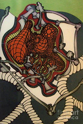 Drawing - Rfb0109 by Robert F Battles