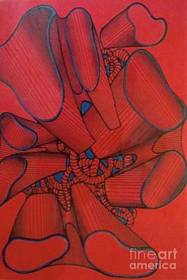Drawing - Rfb0117 by Robert F Battles