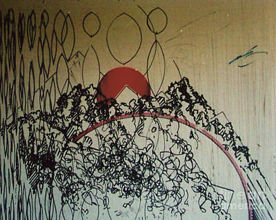 Drawing - Rfb0208-2 by Robert F Battles