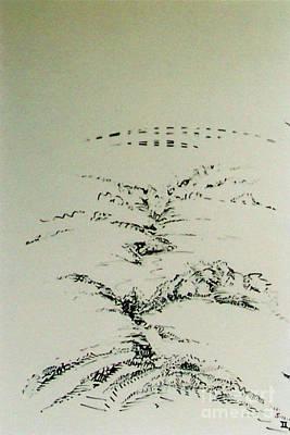 Drawing - Rfb0209-2 by Robert F Battles