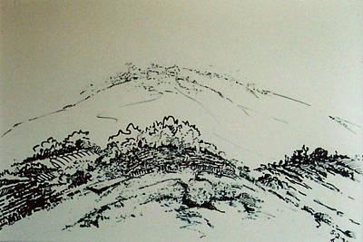 Drawing - Rfb0211 by Robert F Battles