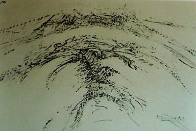 Drawing - Rfb0216-2 by Robert F Battles