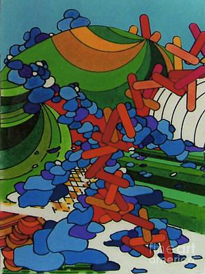Drawing - Rfb0541 by Robert F Battles