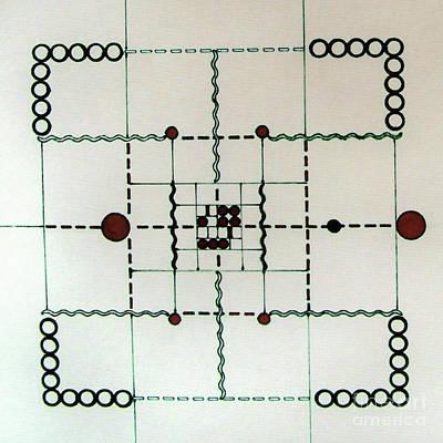 Drawing - Rfb0558 by Robert F Battles