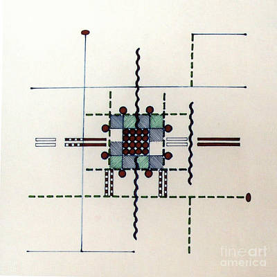 Drawing - Rfb0559 by Robert F Battles