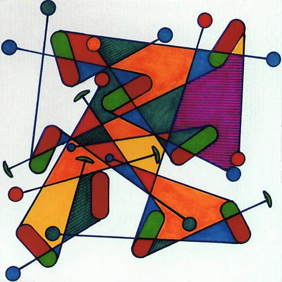 Drawing - Rfb0582 by Robert F Battles
