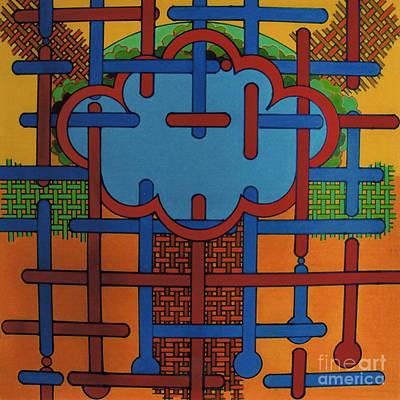 Drawing - Rfb0614 by Robert F Battles