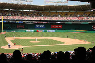 Rfk Stadium Art Print by Lance Freeman