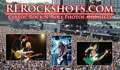 Photograph - Rfrockshots Classic Rock N by Rich Fuscia