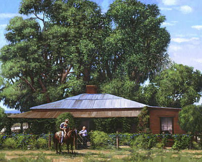 Painting - R G Wells Homestead by Sheila Cottrell