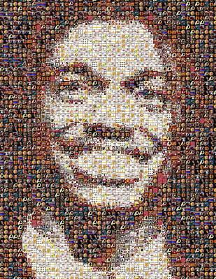 Rg3 Redskins History Mosaic Art Print