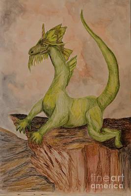 Painting - Rhaegal by Maria Urso