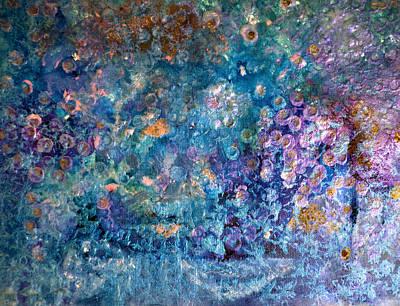 Rhapsody In Blue Art Print by Don  Wright