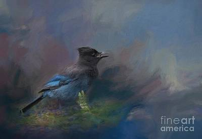 Painting - Rhapsody In Blue by Eva Lechner