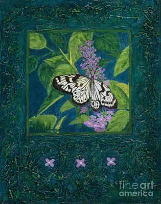 Painting - Rhapsody In Blue I by Sandra Neumann Wilderman
