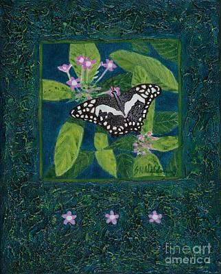 Painting - Rhapsody In Blue II by Sandra Neumann Wilderman