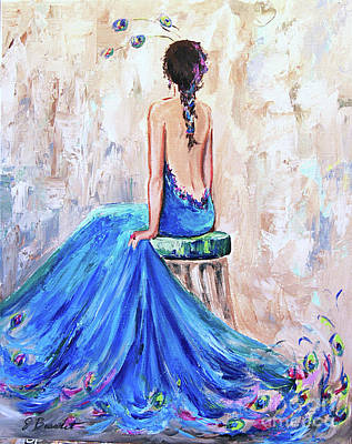 Painting - Rhapsody In Blue by Jennifer Beaudet
