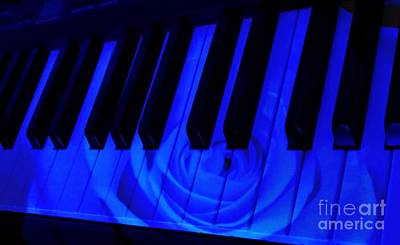 Photograph - Rhapsody In Blue by Joan-Violet Stretch