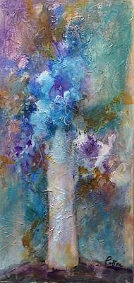 Painting - Rhapsody In Blue by Karen Ann Patton
