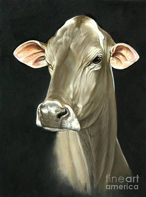 Brown Swiss Painting - Rhapsody In Grayscale by Gary Sauder