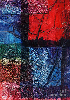Multi Colored Mixed Media - Rhapsody Of Colors 17 by Elisabeth Witte - Printscapes