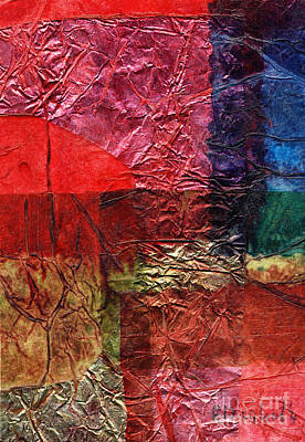 Mixed Medium Mixed Media - Rhapsody Of Colors 18 by Elisabeth Witte - Printscapes