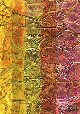 Multi Media Mixed Media - Rhapsody Of Colors 31 by Elisabeth Witte - Printscapes