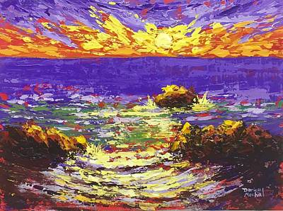 Painting - Rhapsody Of The Sun 2 by Darice Machel McGuire