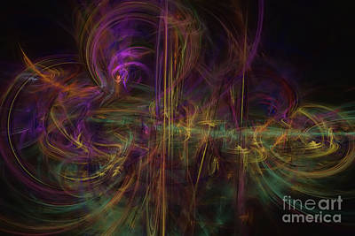 Digital Art - Rhapsody by Olga Hamilton