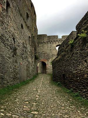 Castle Ruins Wall Art - Photograph - Rheinfels Castle Walk by Nancy Merkle