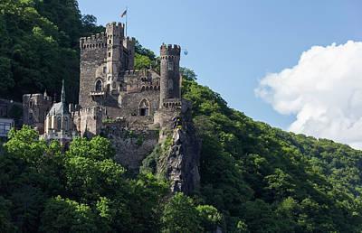 Reconstruction Photograph - Rheinstein Castle 03 by Teresa Mucha