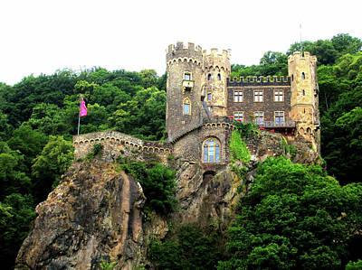 Digital Art - Rheinstein Castle by Max DeBeeson