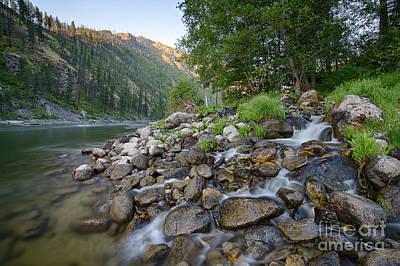 Photograph - Rhett Creek by Idaho Scenic Images Linda Lantzy