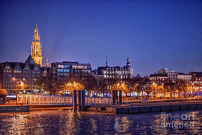 Photograph - Rhine At Night by Rick Bragan