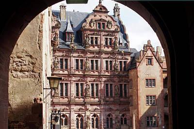 Pyrography - Rhine River 34 Heidelberg by Steve Breslow