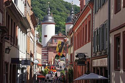 Photograph - Rhine River 35 Heidelberg by Steve Breslow
