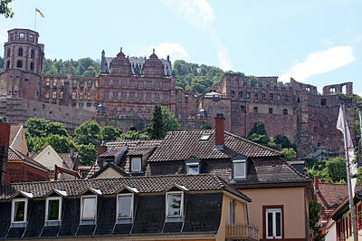 Photograph - Rhine River 40 Heidelberg by Steve Breslow