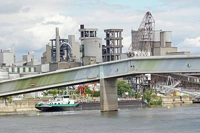 Photograph - Rhine River 42 Koblenz by Steve Breslow